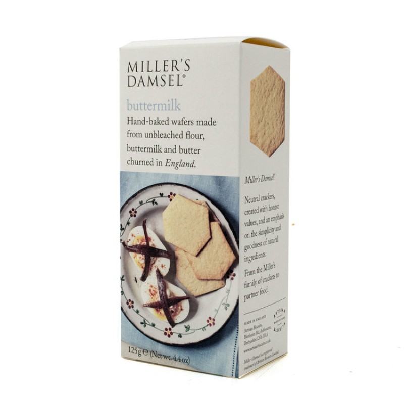 Miller's Damsel Buttermilk Wafers 125g