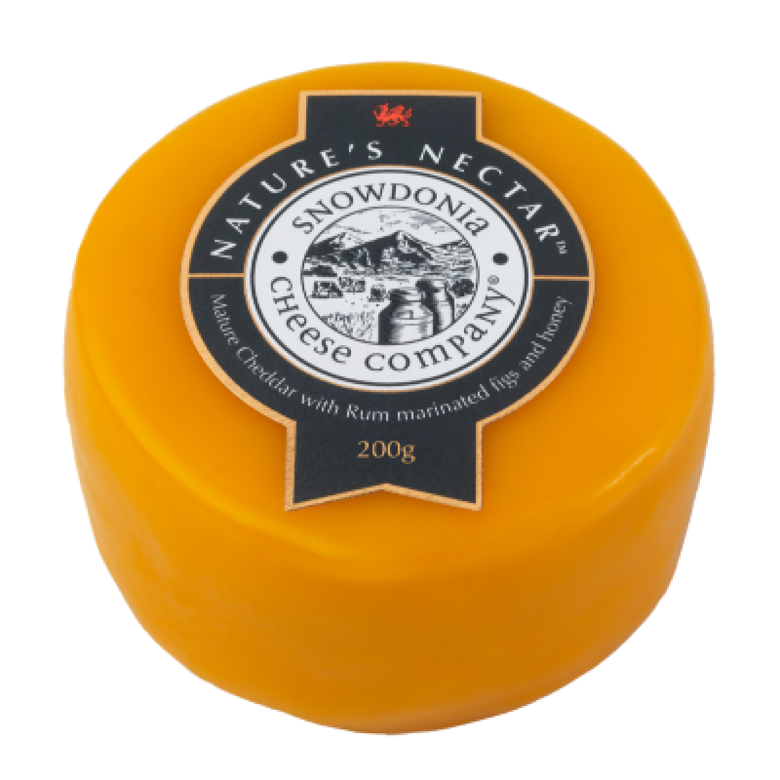 Nature's Nectar 200g - Cheddar with Rum Marinated Figs & Honey Snowdonia Cheese Co