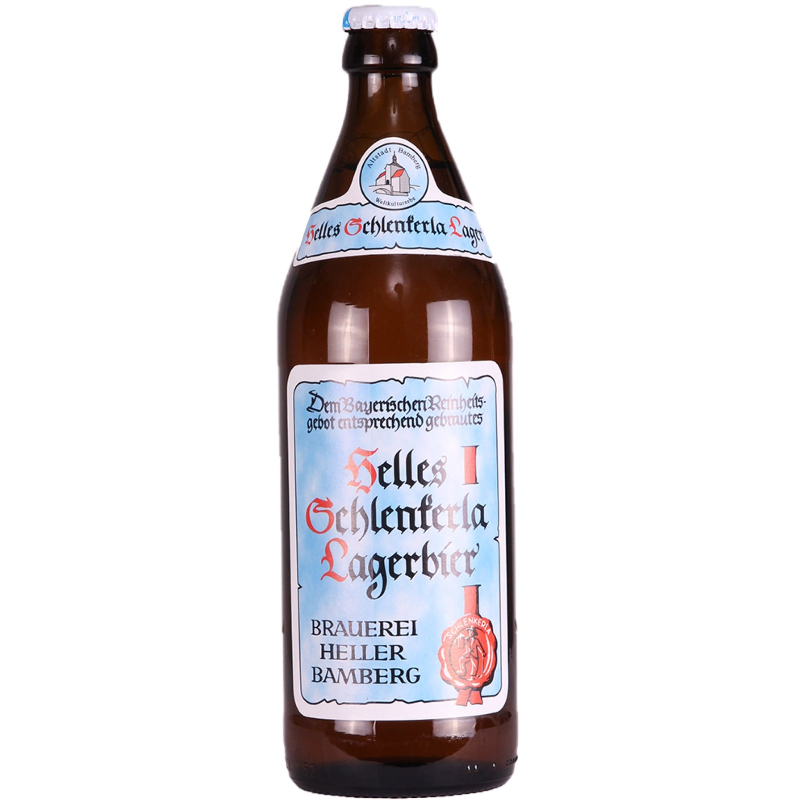 Helles Schlenkerla Lagerbier 4.3% 500ml Brauerei Heller Bamberg