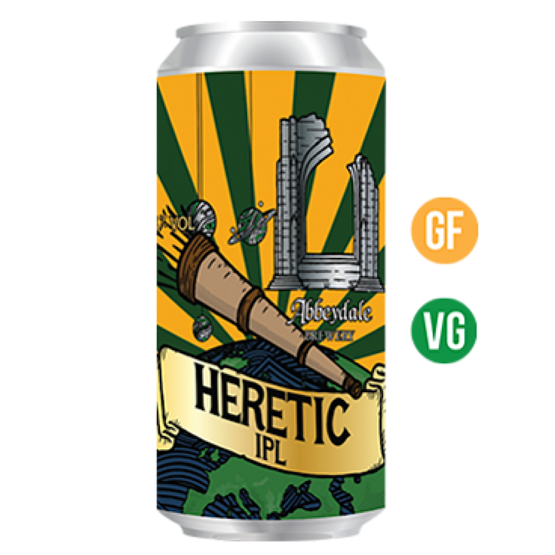 Heretic - India Pale Lager 5.8% 440ml Abbeydale Brewery