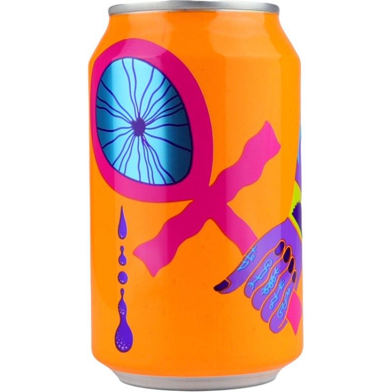 Tefnut Orange Vanilla Triple fruited imperial Gose 11% 330ml Omnipollo Brewing