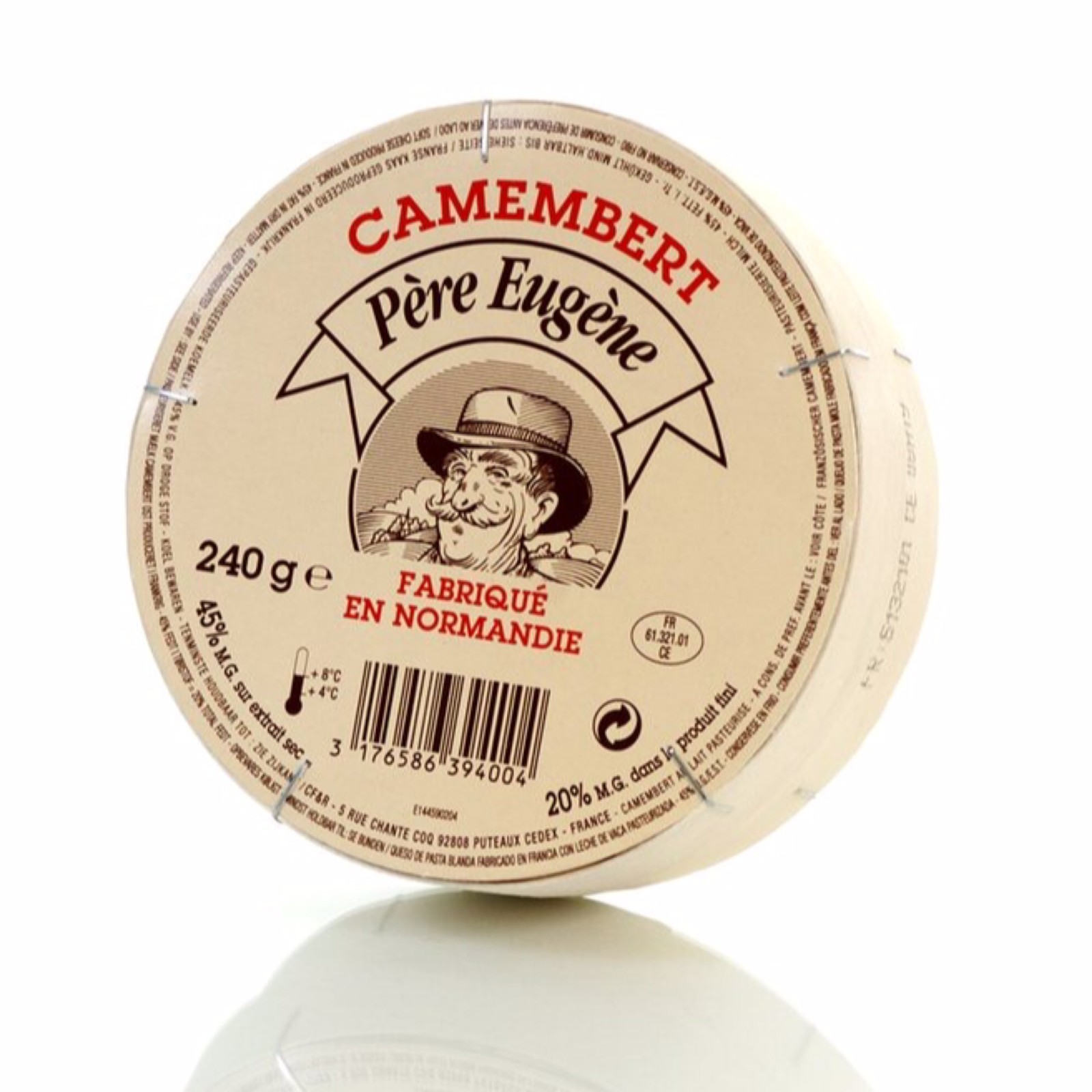 Camembert Pere Eugene 240g