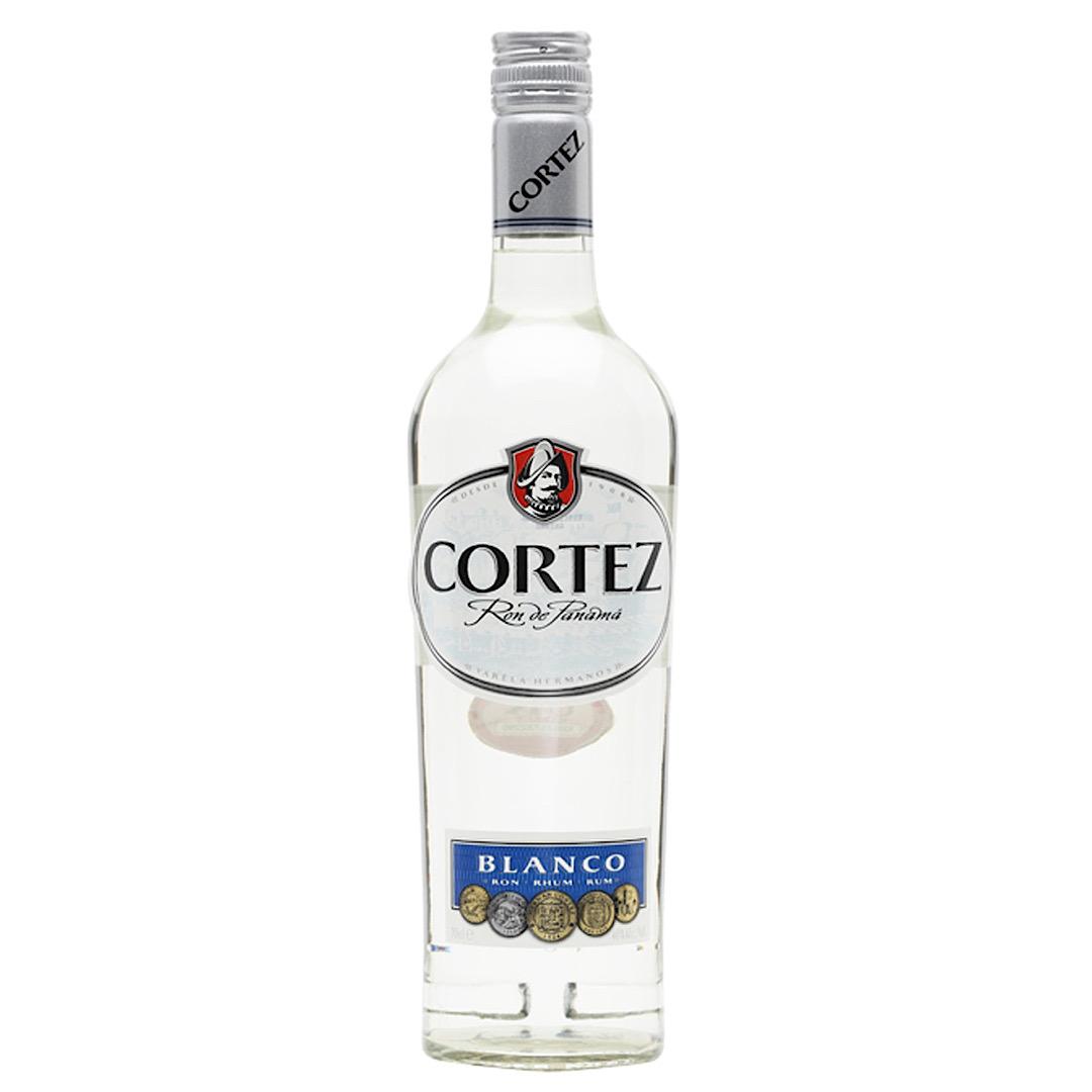 Cortez Blanco Rum 40% 700ml Panama