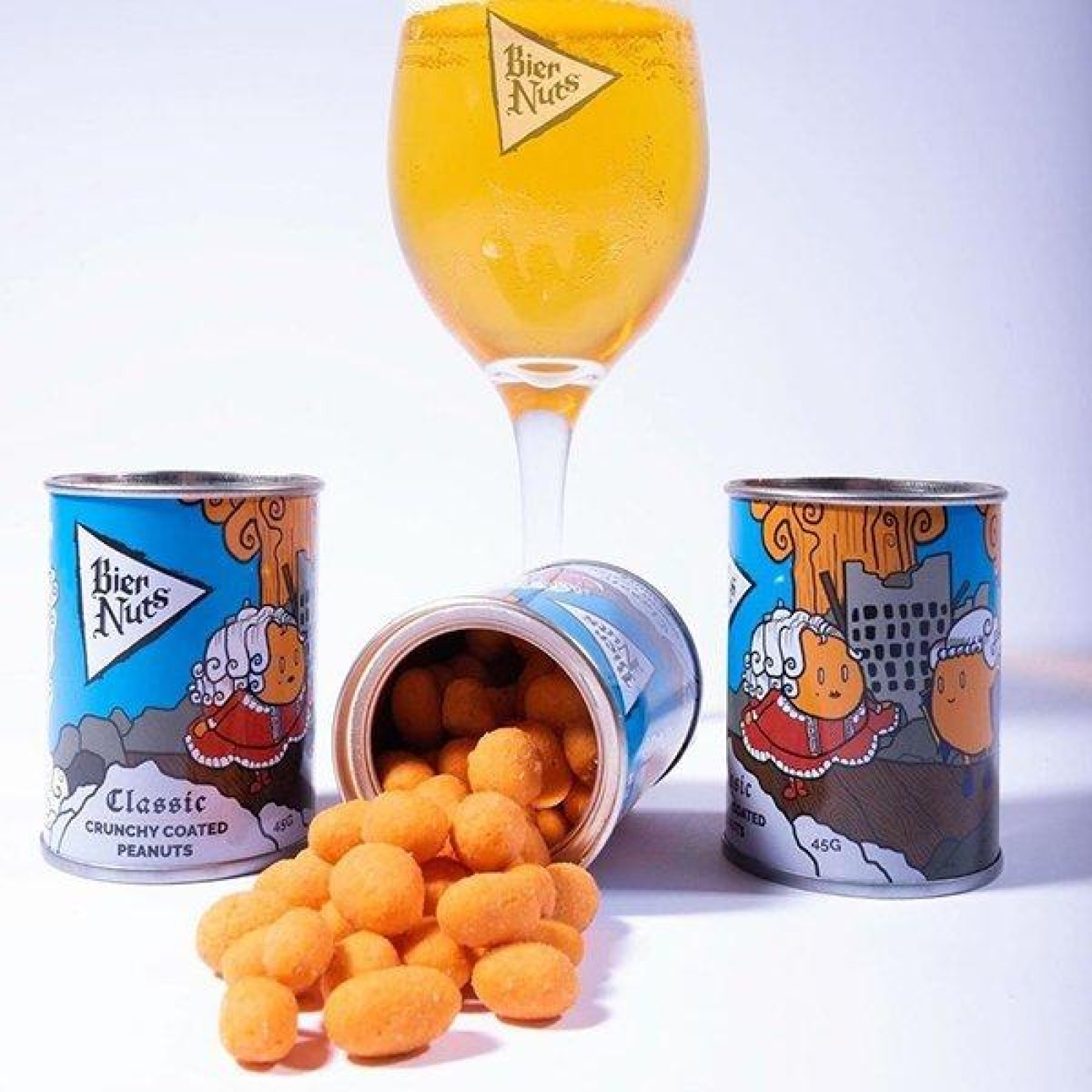 Bier Nuts Mixed Flavours 3x45g