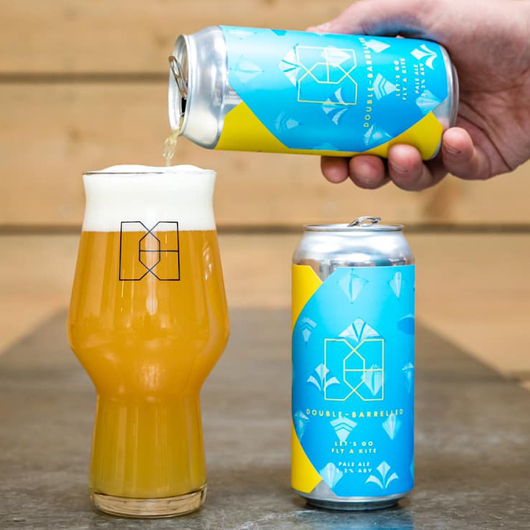 Let's Go Fly A Kite NE Pale Ale 5.2% Double - Barrelled Brewery