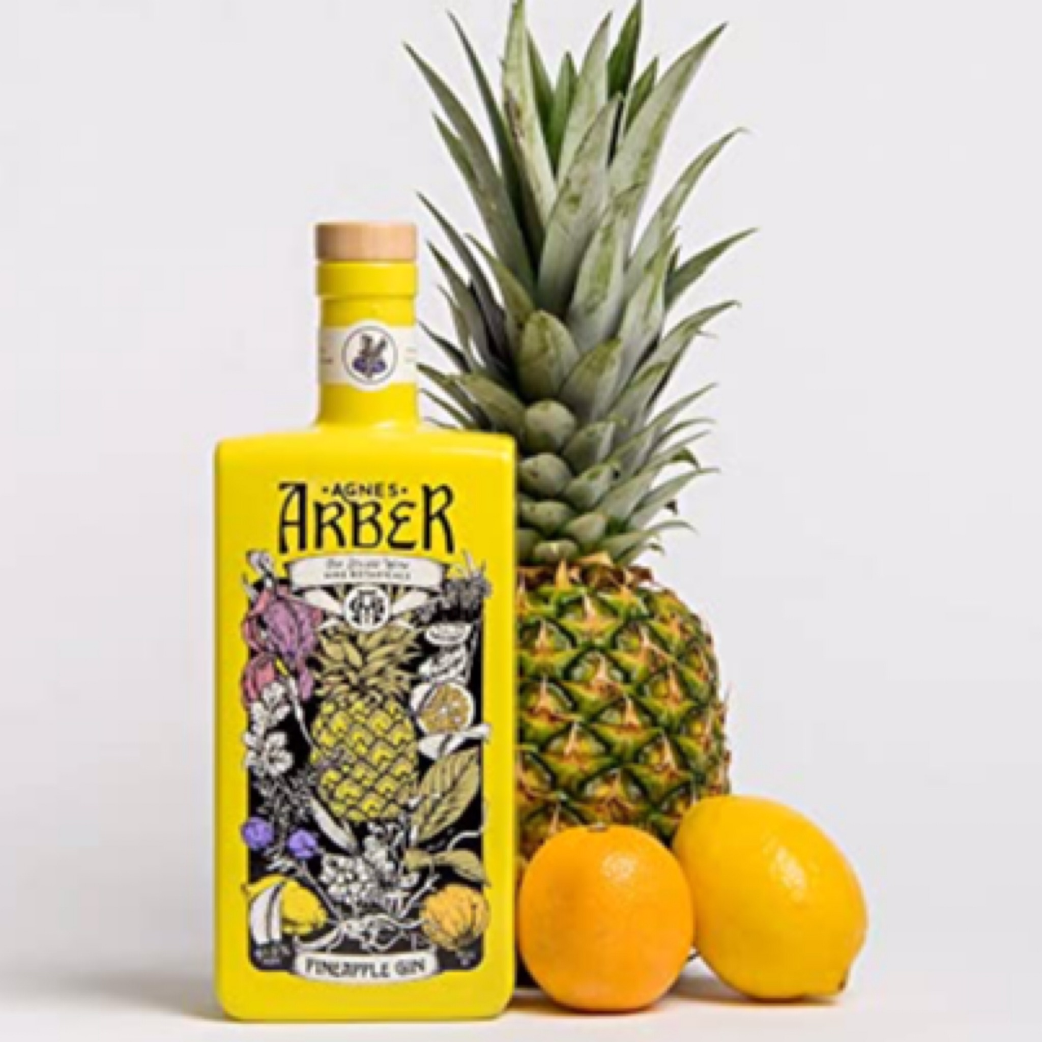 Agnes Arber Pineapple Gin 41.6% 700ml