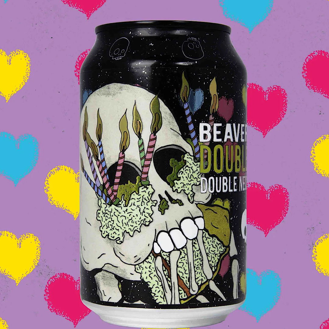 Double Chin - Double Neck Oil DIPA 8.6% 330ml Beavertown Brewery