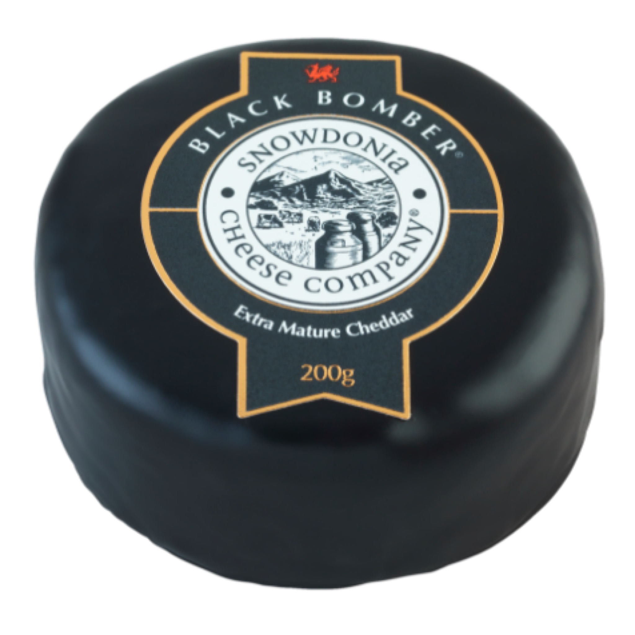 Black Bomber 200g - Extra Mature Cheddar  Snowdonia Cheese Co