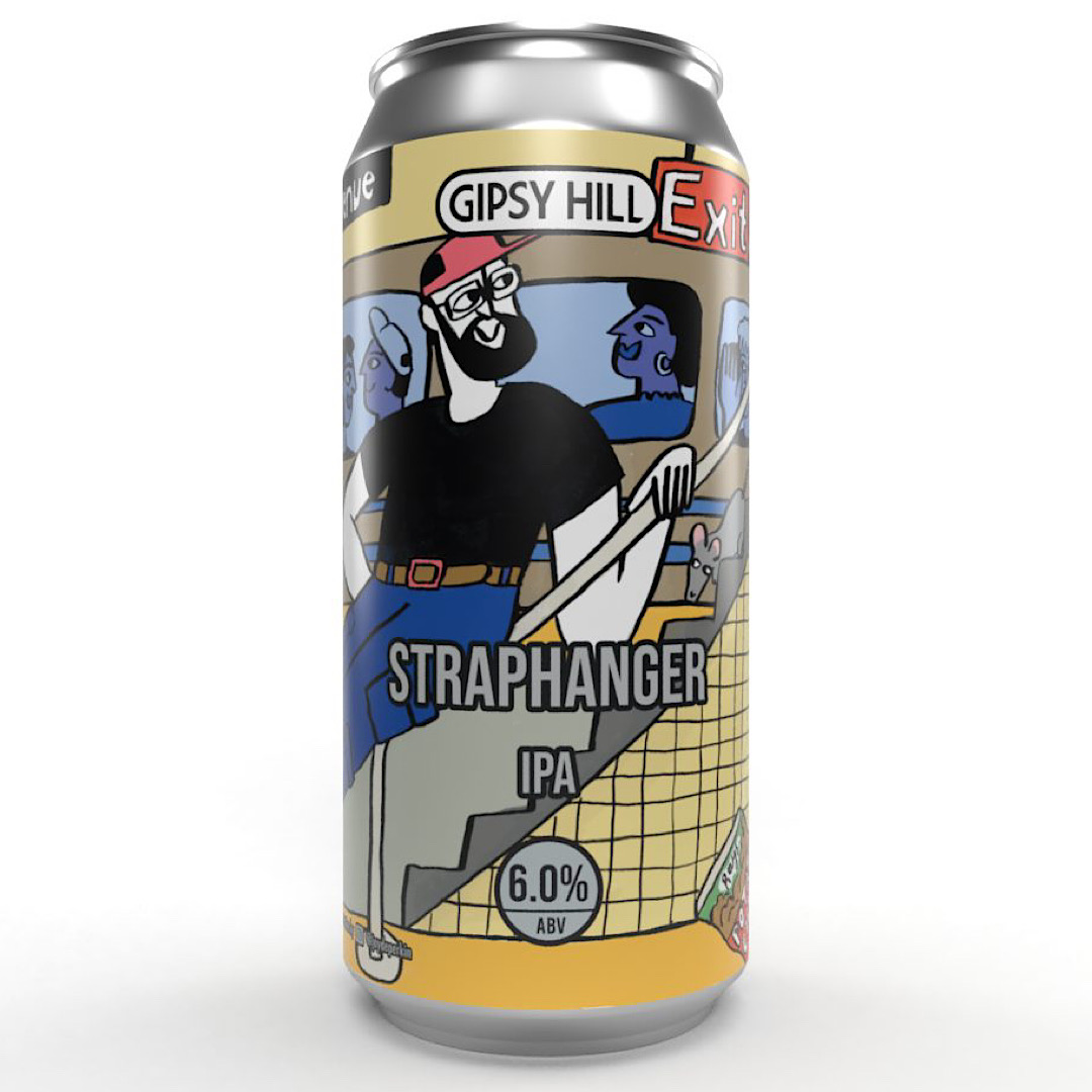 Straphanger NE IPA 6% 440ml Gipsy Hill Brewing