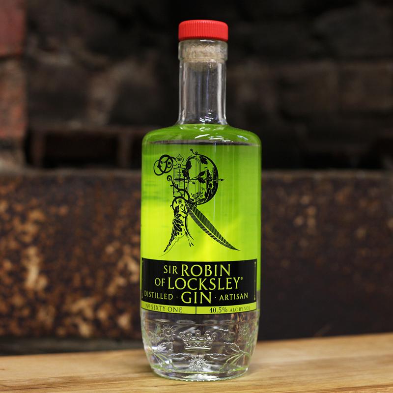 Sir Robin of Locksley Gin 40.5% 700ml