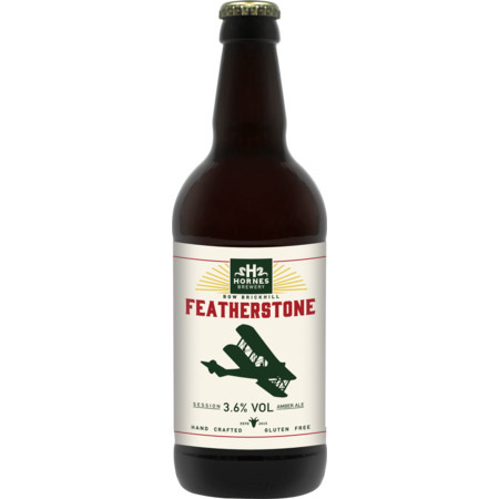 Featherstone Amber Ale 3.6% 500ml Hornes Brewery