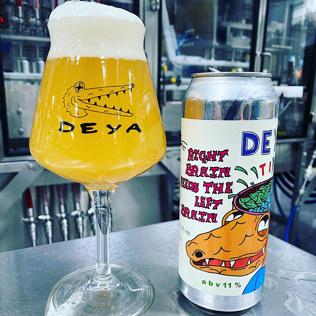 Right Brain Feeds the Left Brain - TIPA 11% 500ml Deya Brewing Co