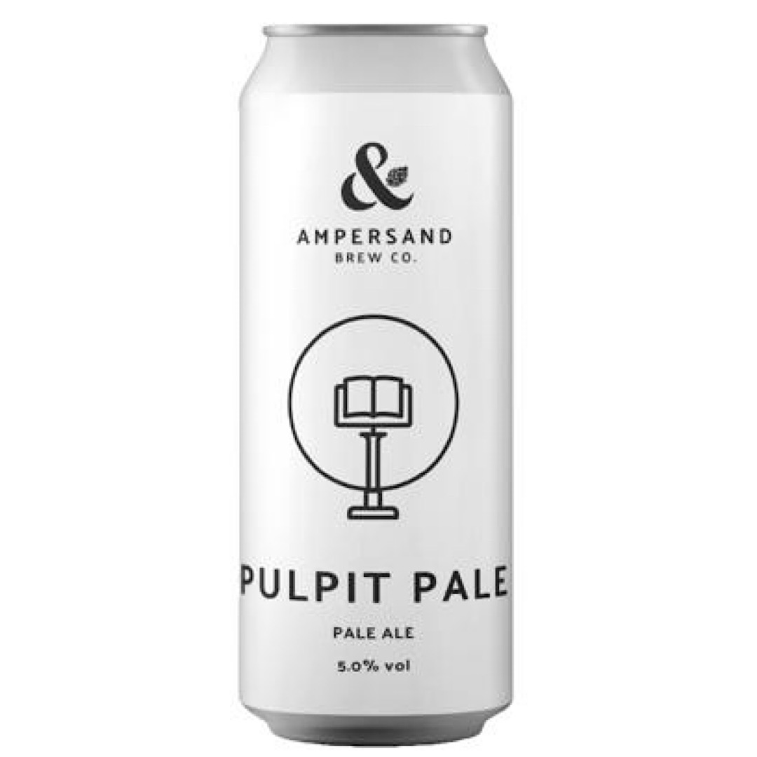 PULPIT PALE - Pale Ale 5% 440ml Ampersand Brew Co