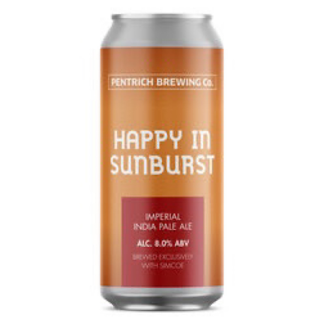 Happy in Sunburst - Imperial IPA 8% 440ml Pentrich Brewing Co