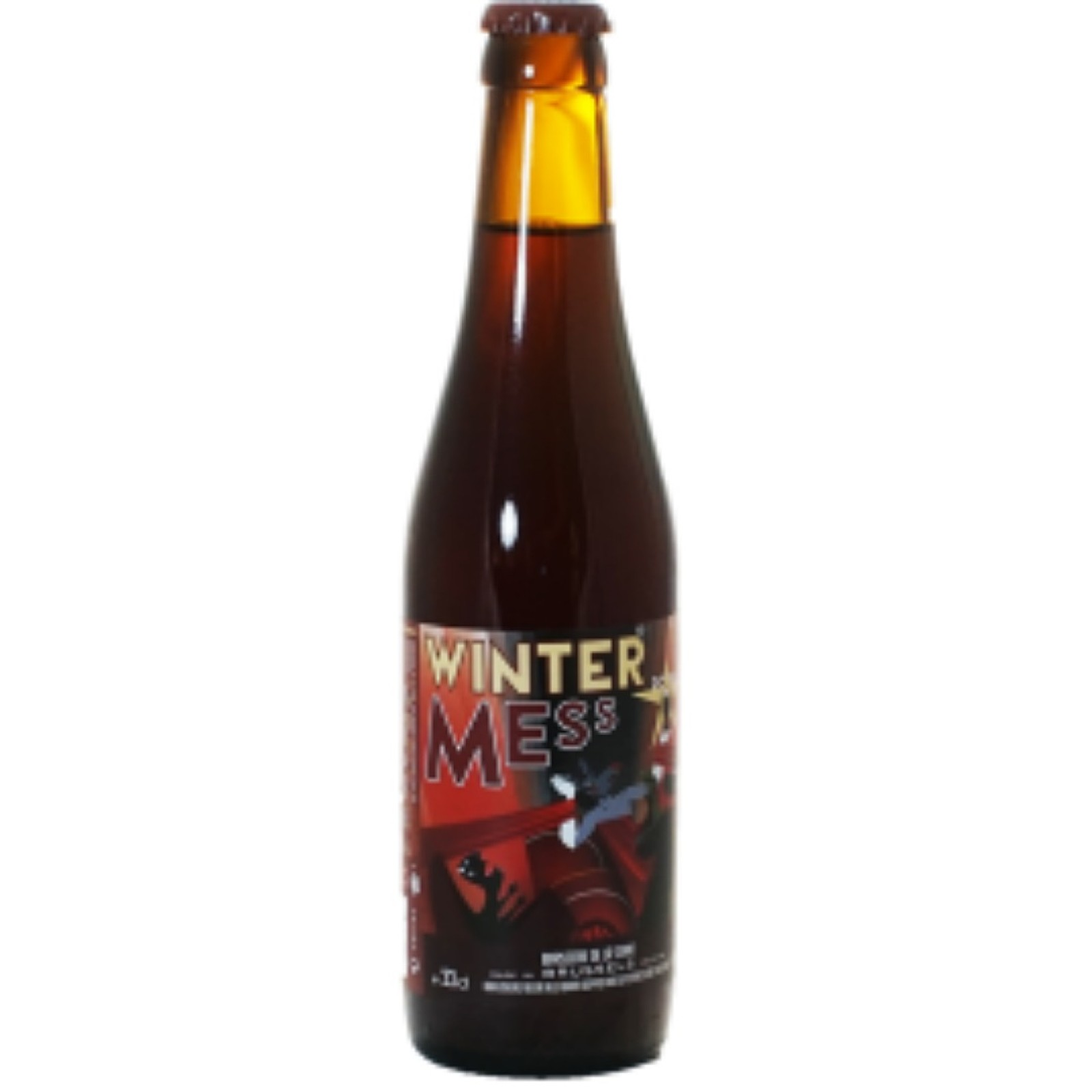 Winter Mess - Strong Belgian Ale 8.5% 330ml De La Senne Brewery