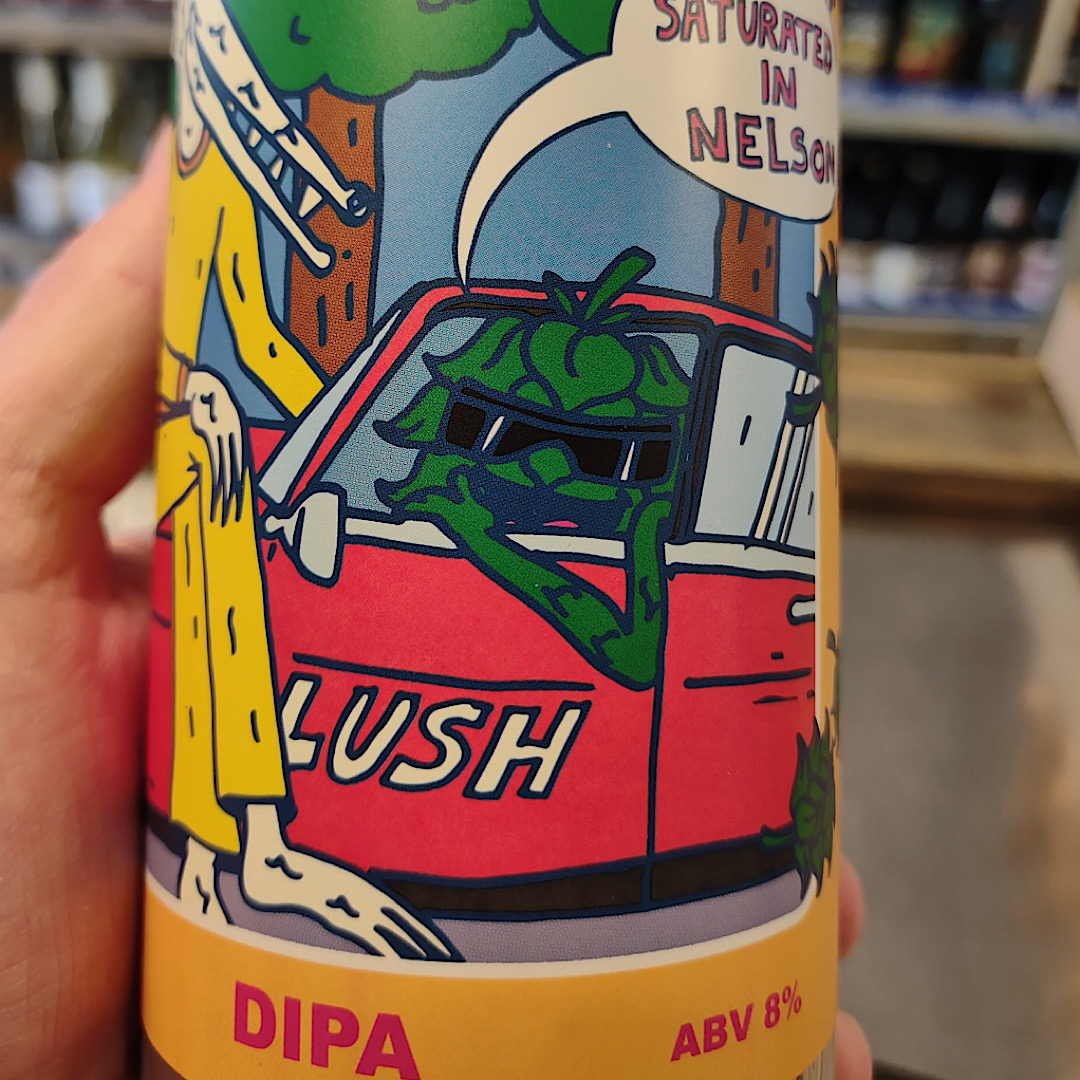 Saturated In Nelson - Single hop DIPA 8% 500ml Deya Brewing Co