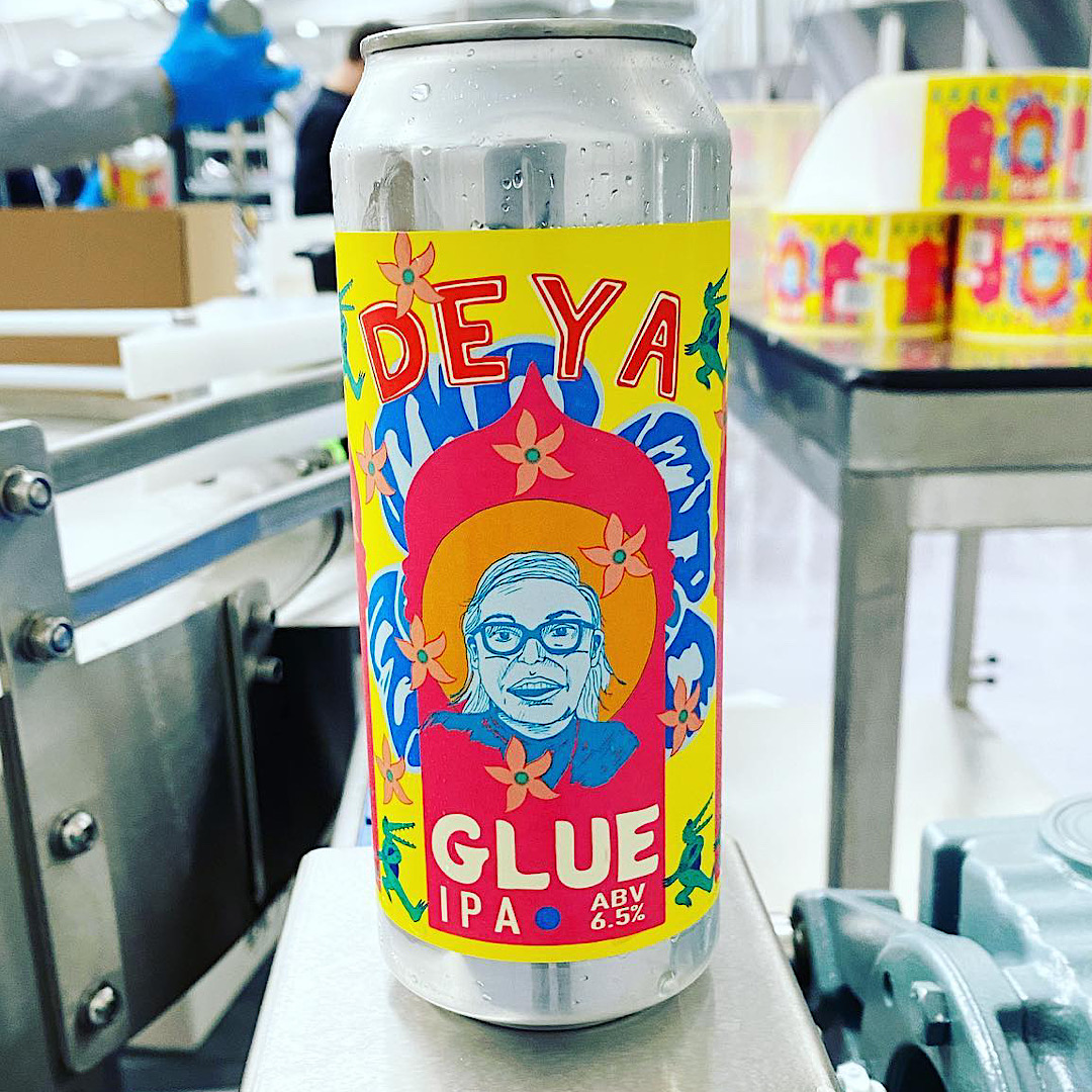 Glue - IPA 6.5% 500ml Deya Brewing Co