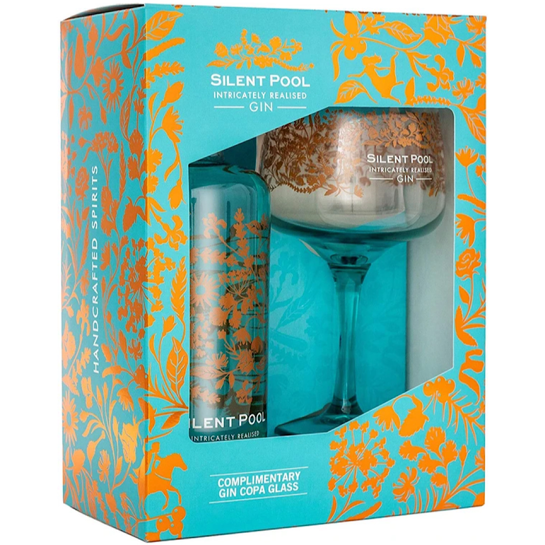 Silent Pool Gin Gift Set 43% 700ml