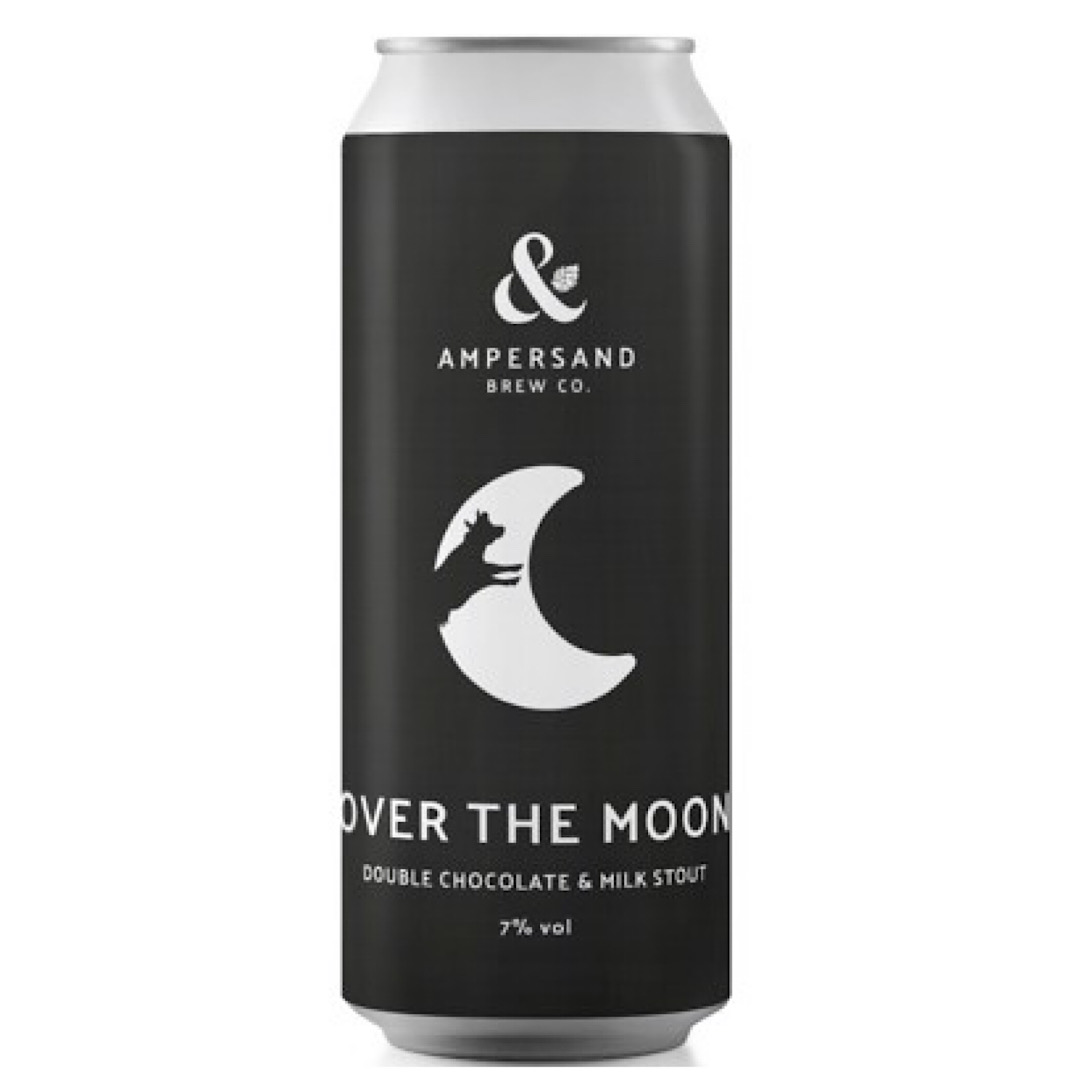 OVER THE MOON - Double Chocolate & Milk Stout 7% 440ml Ampersand Brew Co