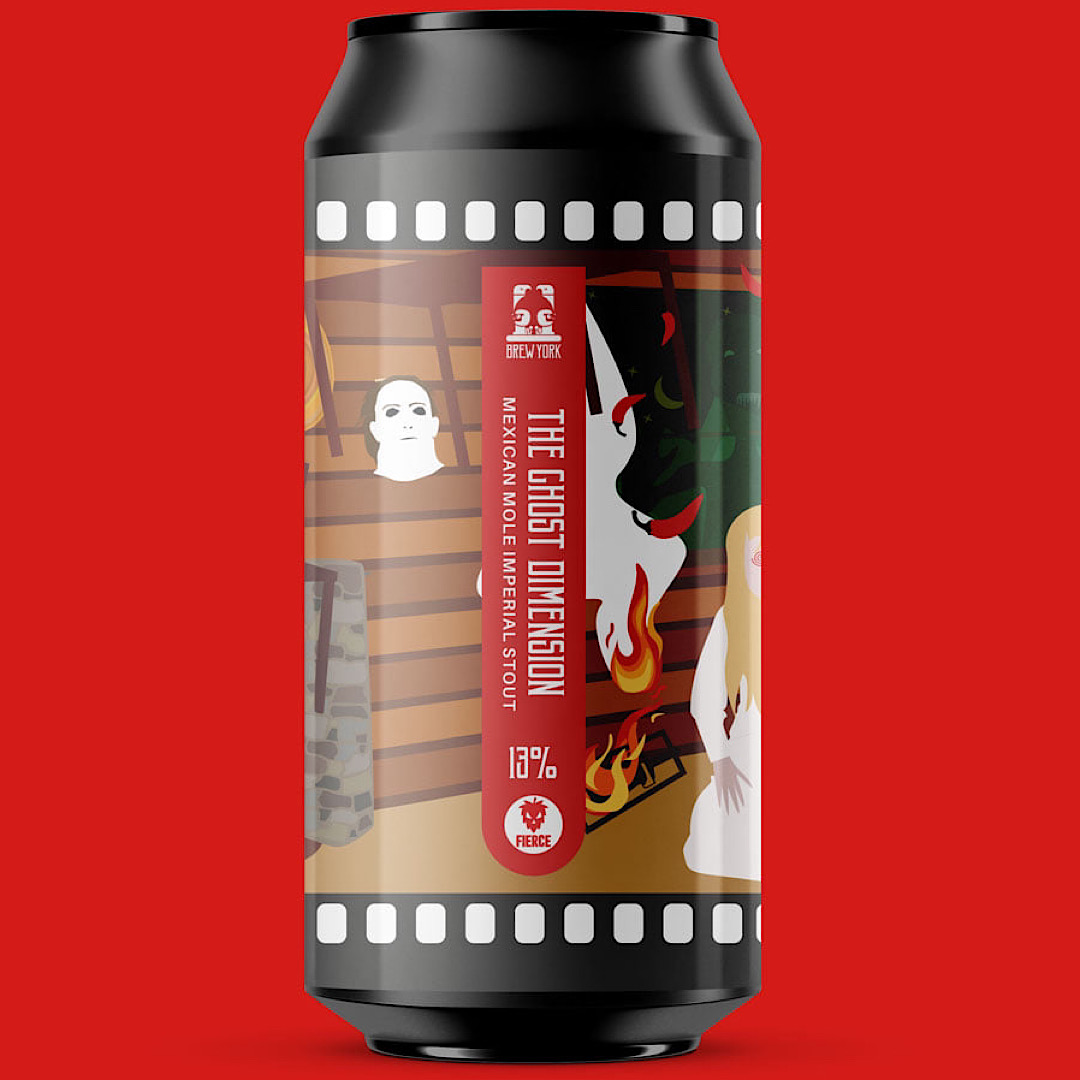 The Ghost Dimension -Mexican Mole Imperial Stout 13% 440ml Brew York x Fierce Beer