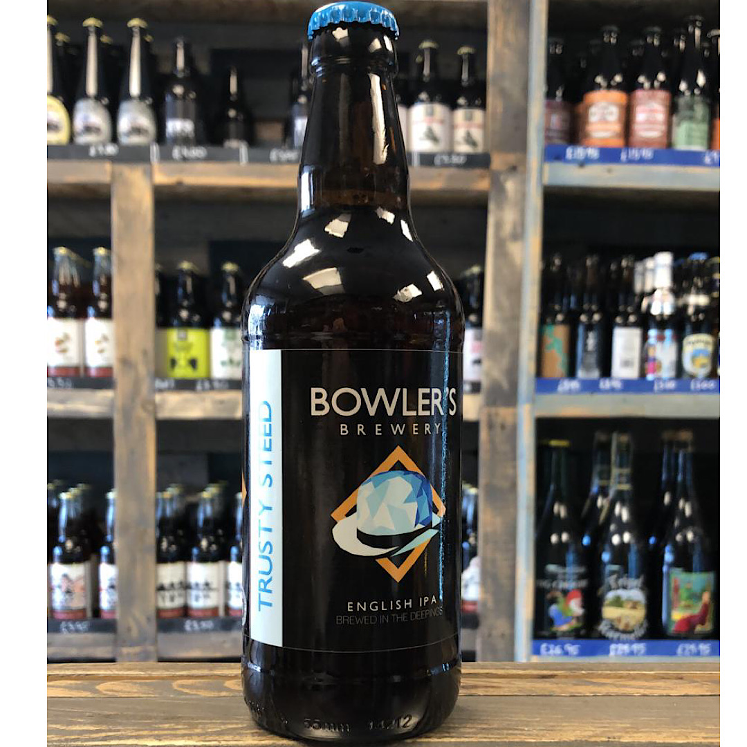 English IPA - Trusty Steed 5.2% 500ml Bowlers Brewery