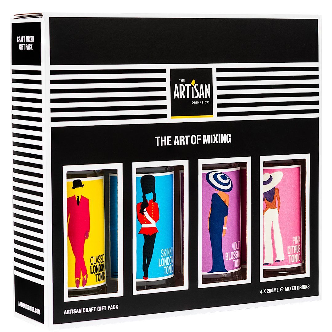 Artisan Tonic Gift Pack 4 X 200ML