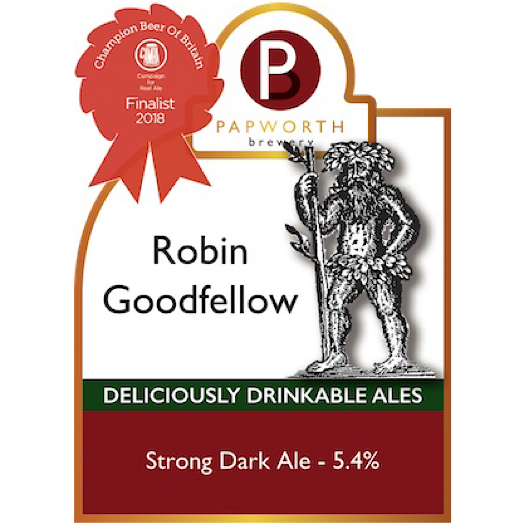 Robin Goodfellow - Strong Dark Ale 5.4% 500ml Papworth Brewery
