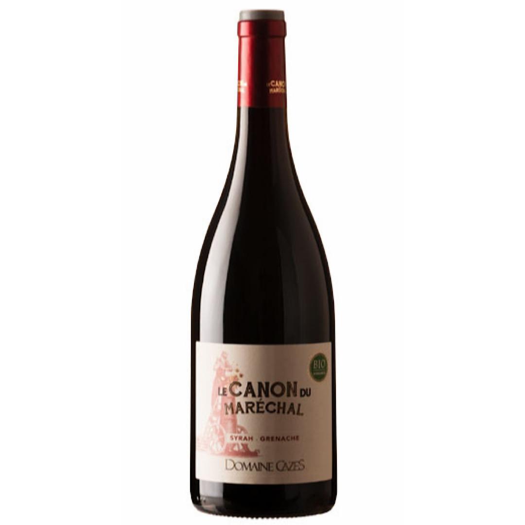 2018 IGP Côtes Catalanes Rouge Organic Vegan Canon du Maréchal, 13% 750ml Domaine Cazes