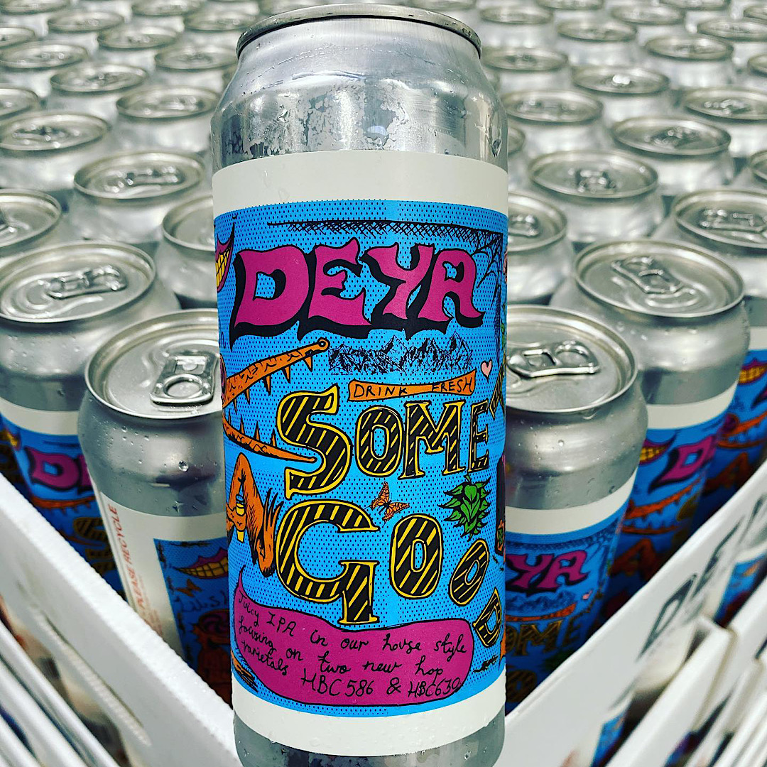 Something Good 13 - IPA 6.2% 500ml Deya Brewing Co