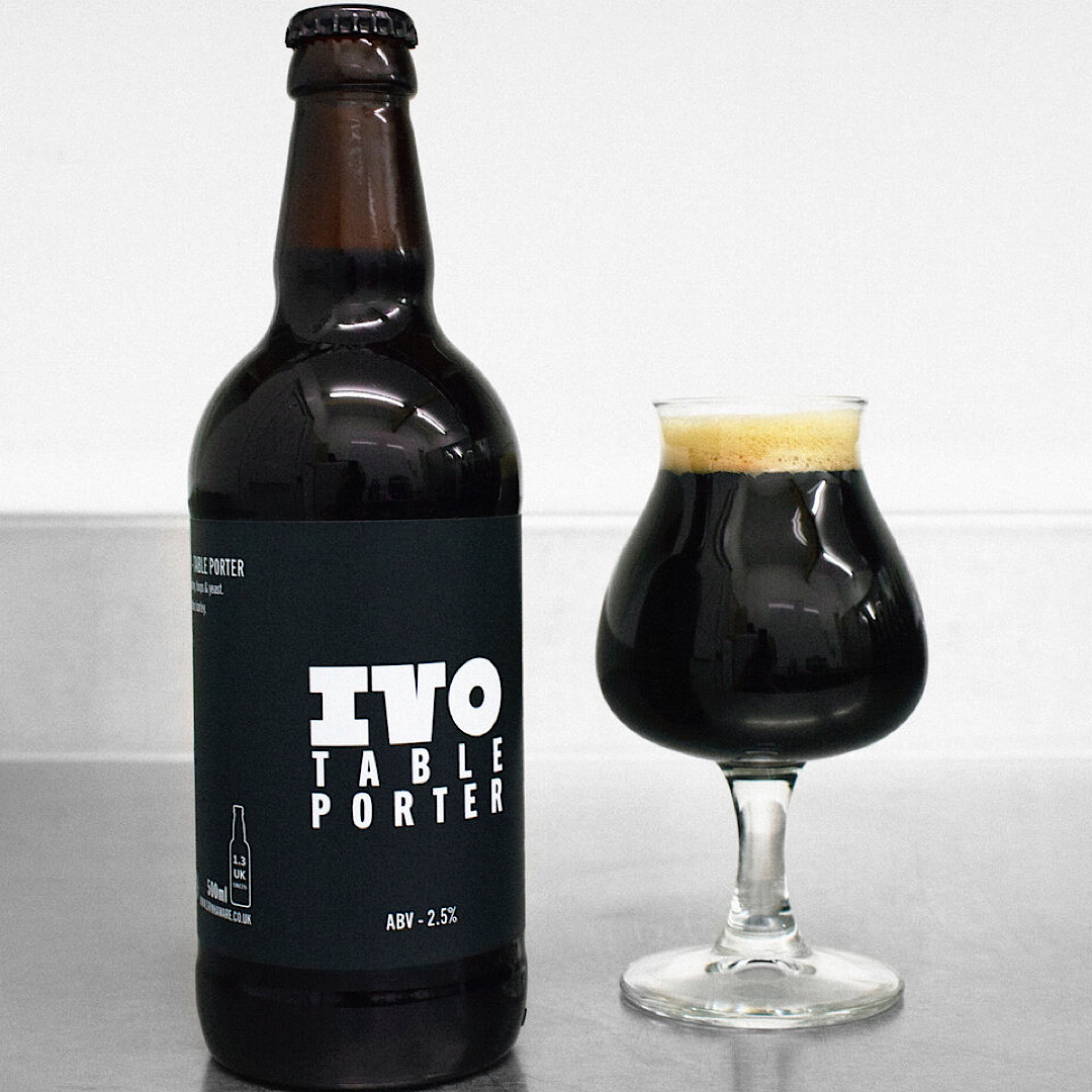 Light On The Chips - Table Porter 2.5% 500ml IVO Brewery