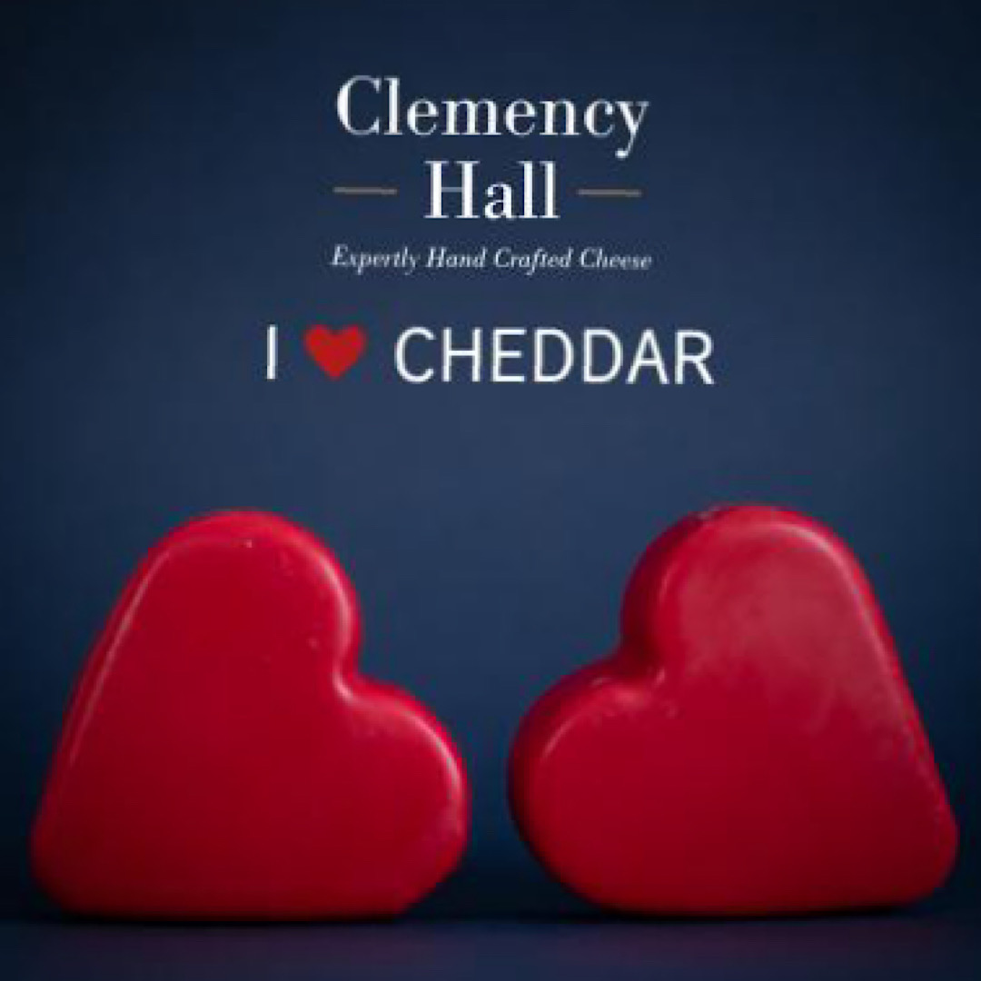 Heart Cheddar 200g Clemency Hall
