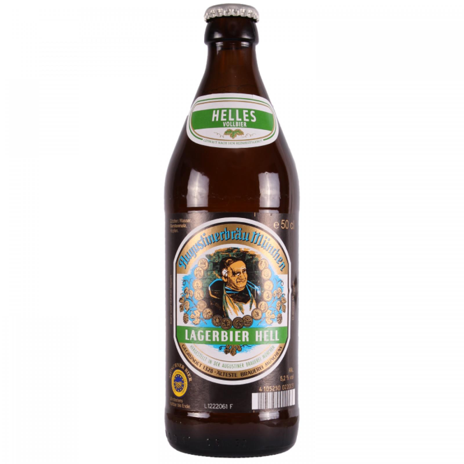Augustiner Lagerbier Helles 5.2% 500ml