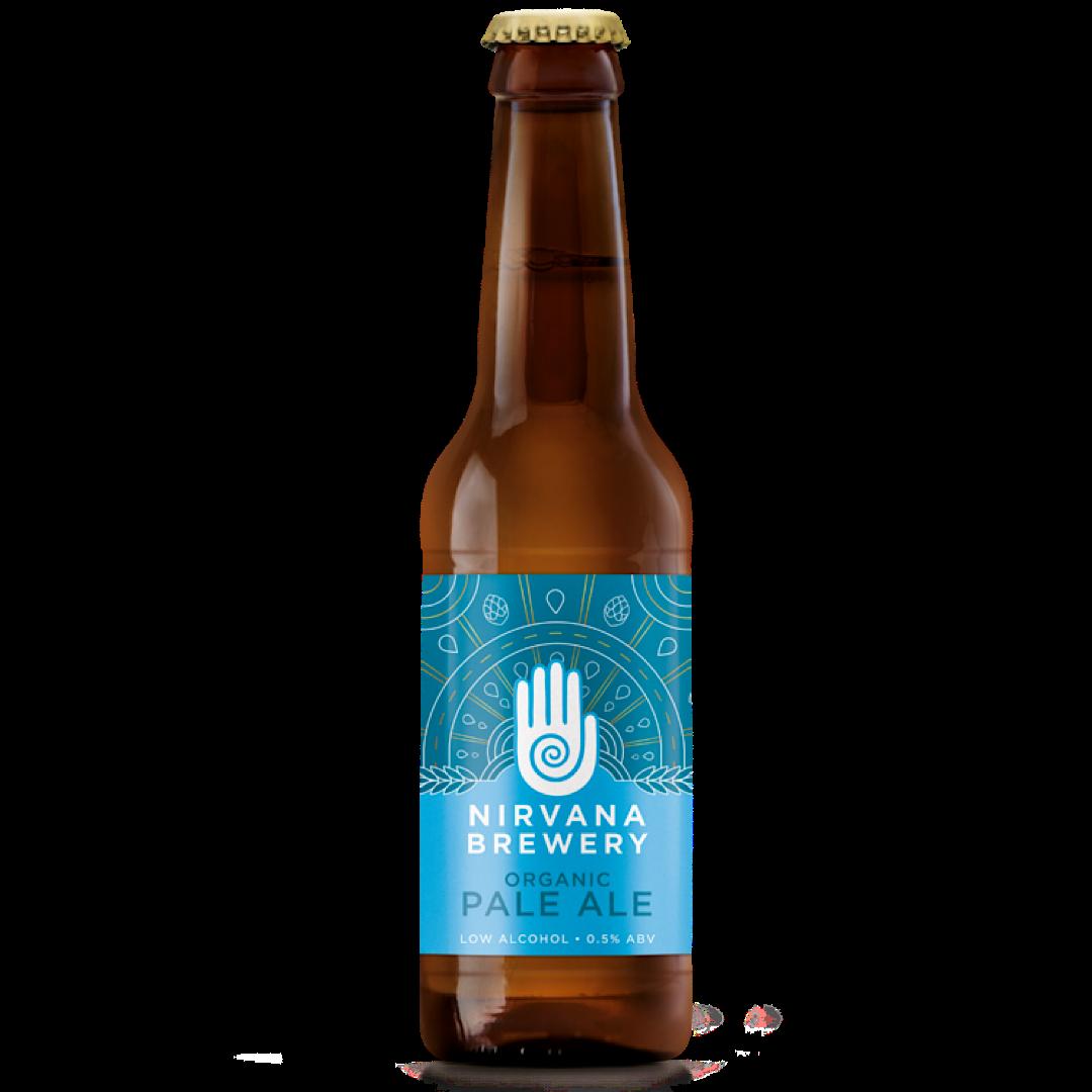 Organic Pale Ale - Alcohol Free  0.5% 330ml Nirvana Brewery