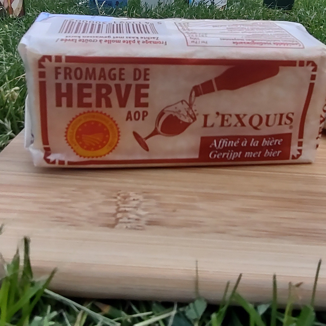 Herve L'EXQUIS – Rind Washed with Beer - Soft Cheese