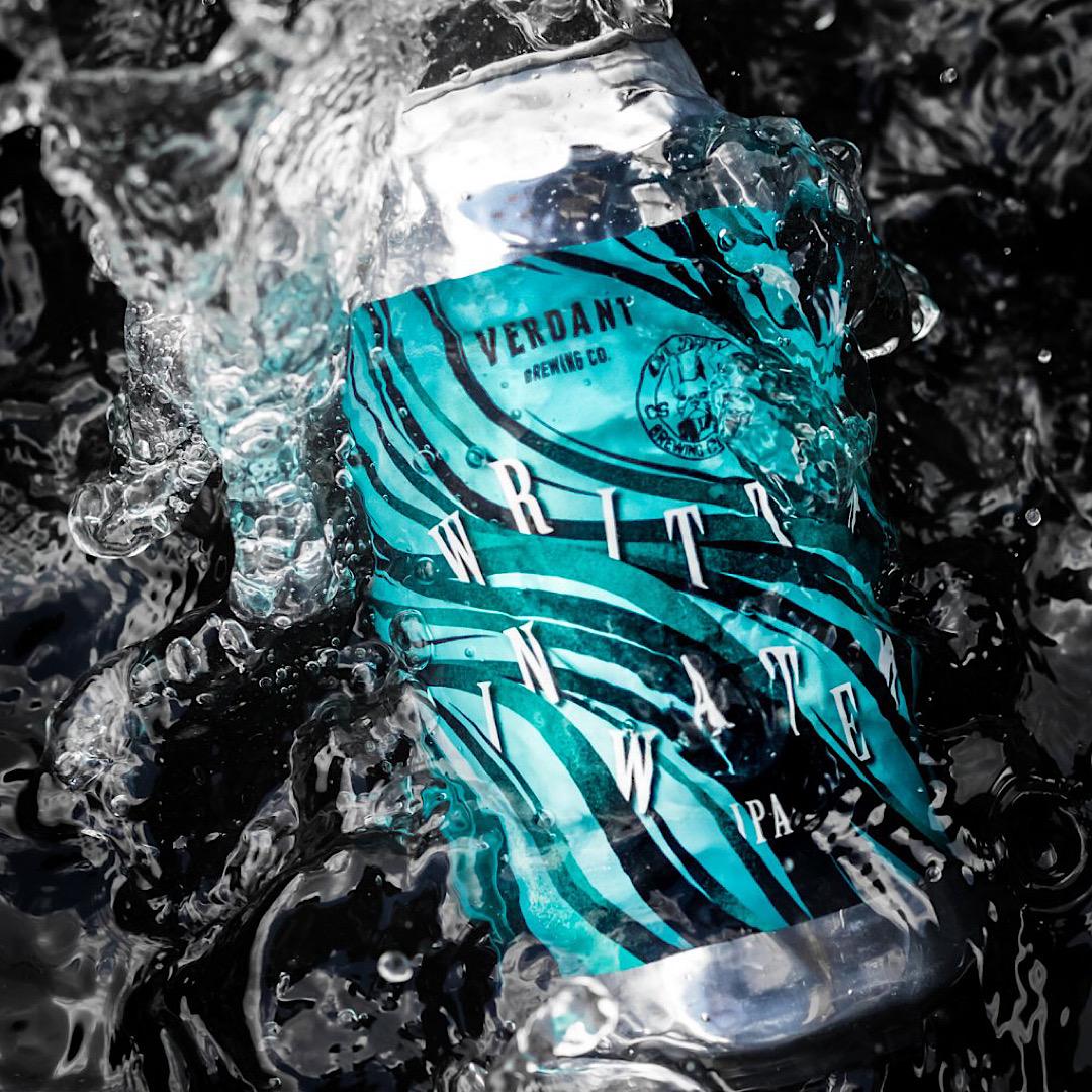 Written In Water IPA 6.5% 440ml Verdant Brewing Co