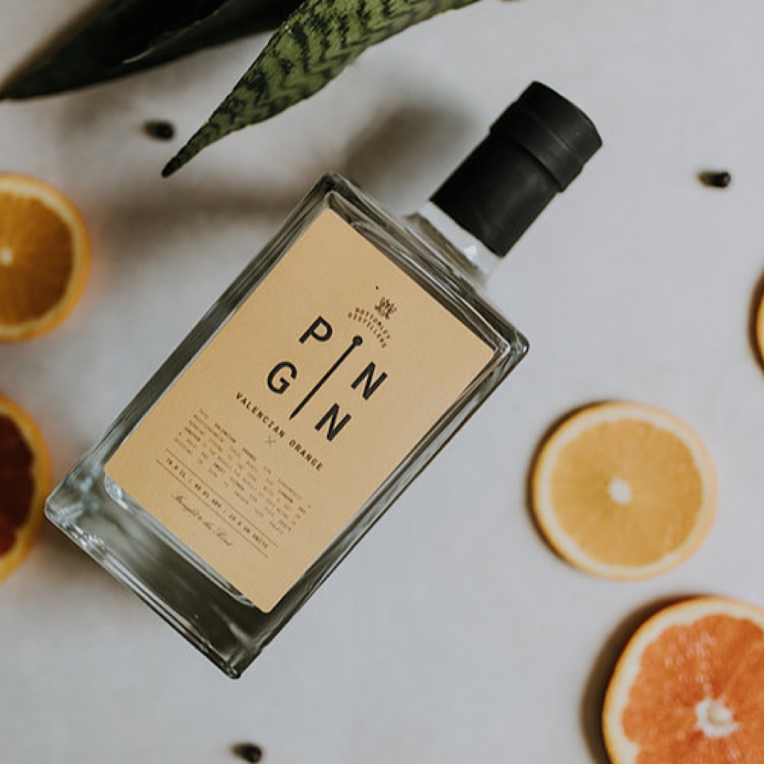 Valencian Orange - Pin Gin 40% 700ml