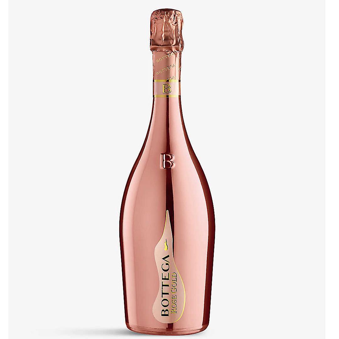 Bottega Rose Gold - Pinot Noir Sparkling Brut Rosé Prosecco 11.5% 750ml