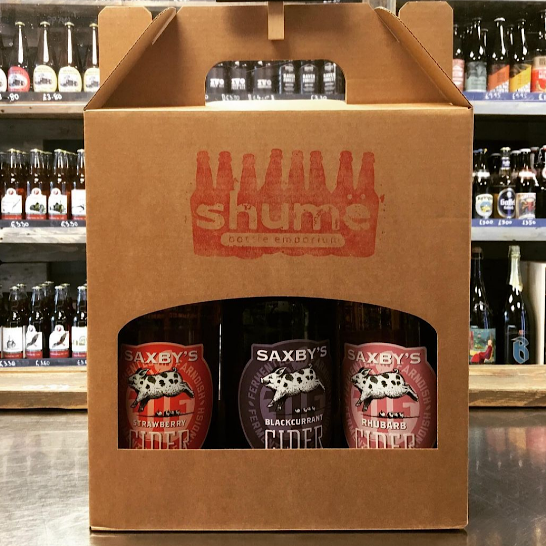 Saxby's GIFT BOX 3 and 6 Bottles