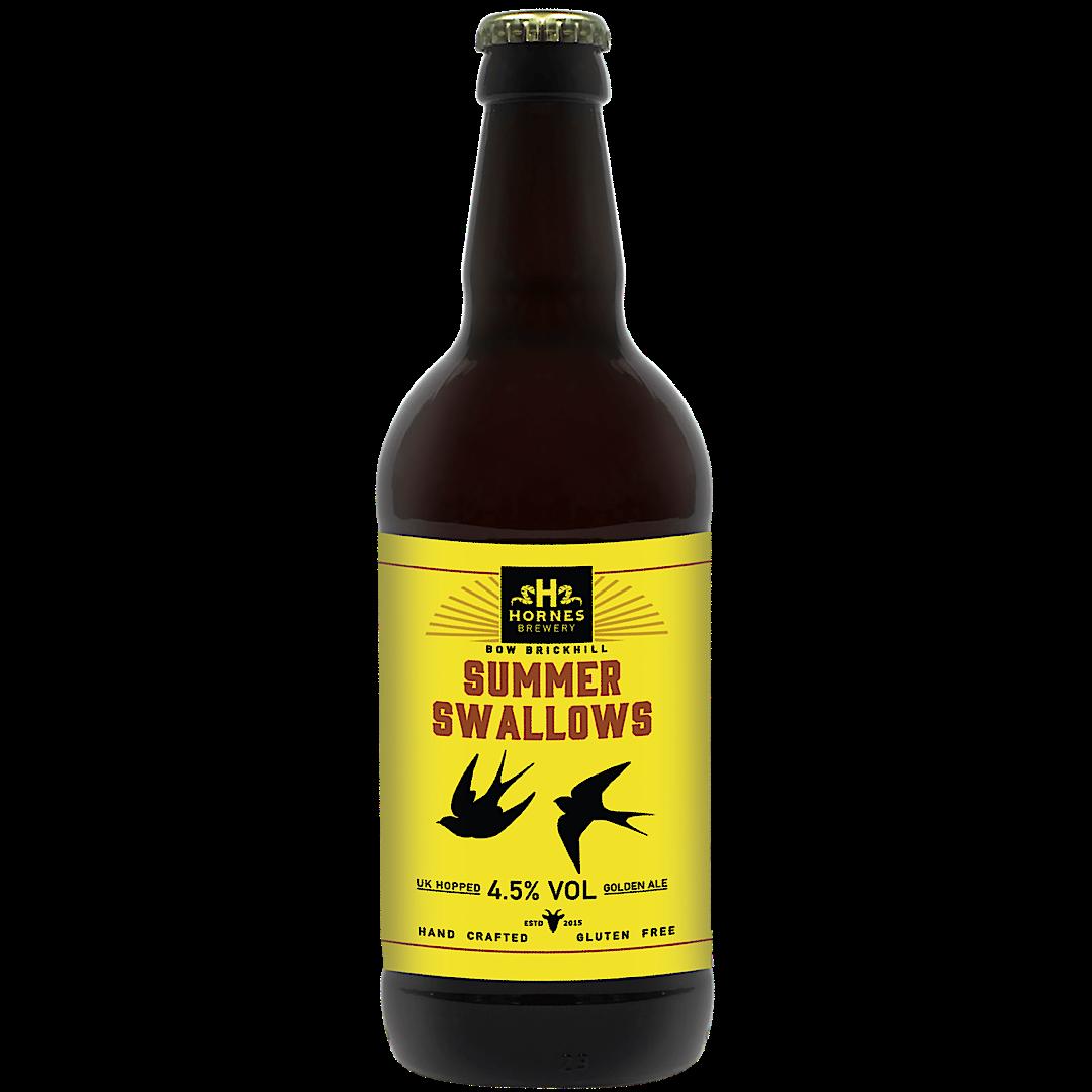 Summer Swallows Golden Ale 4.5% 500ml Hornes Brewery