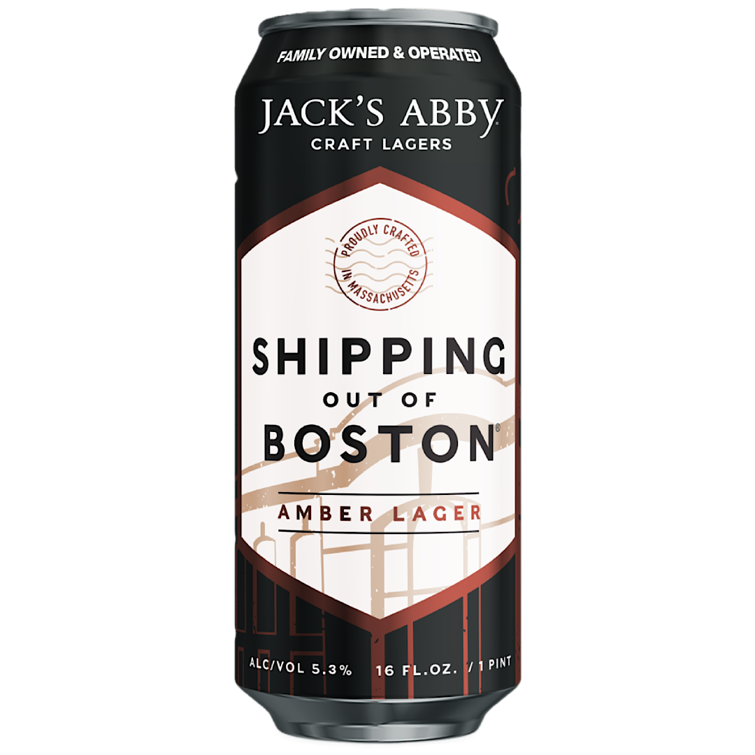 Shipping Out Of Boston - Amber Lager 5.3% 473ml Jack's Abby