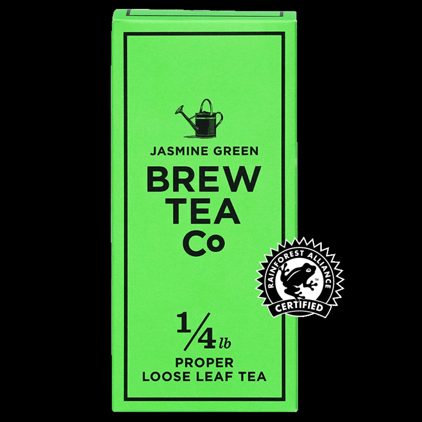 Jasmine Green - Loose Leaf Tea 113g Brew Tea Co
