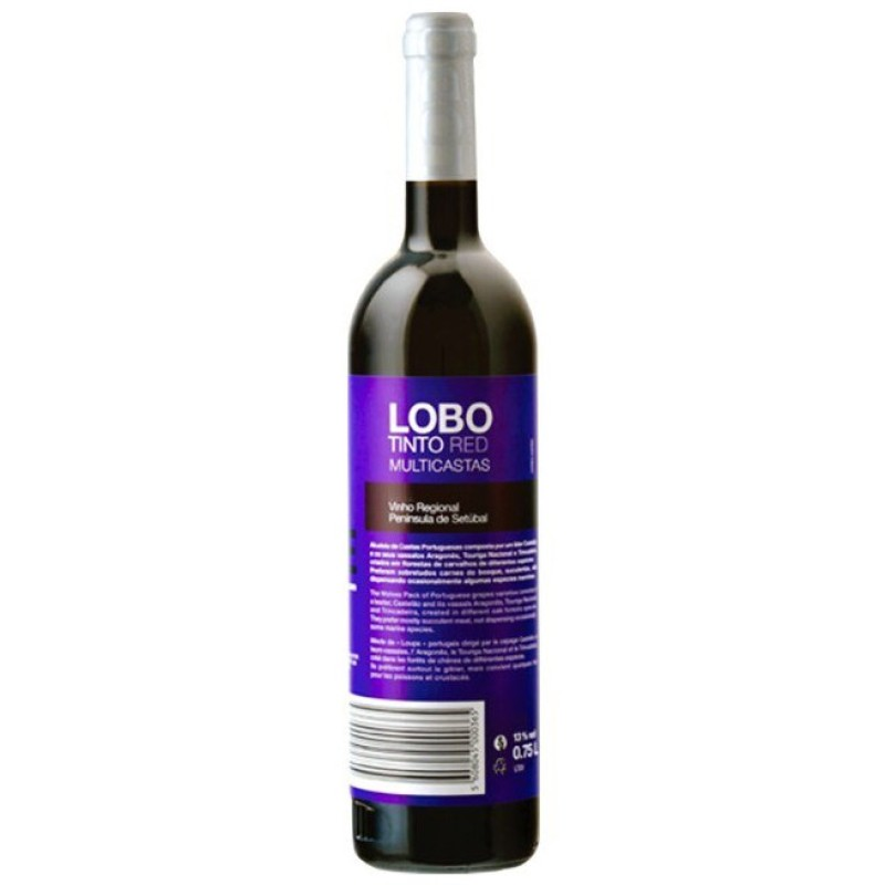 LOBO TINTO RED Natural 13% 750ml  PORTUGAL Casa Agricola Assis Lobo