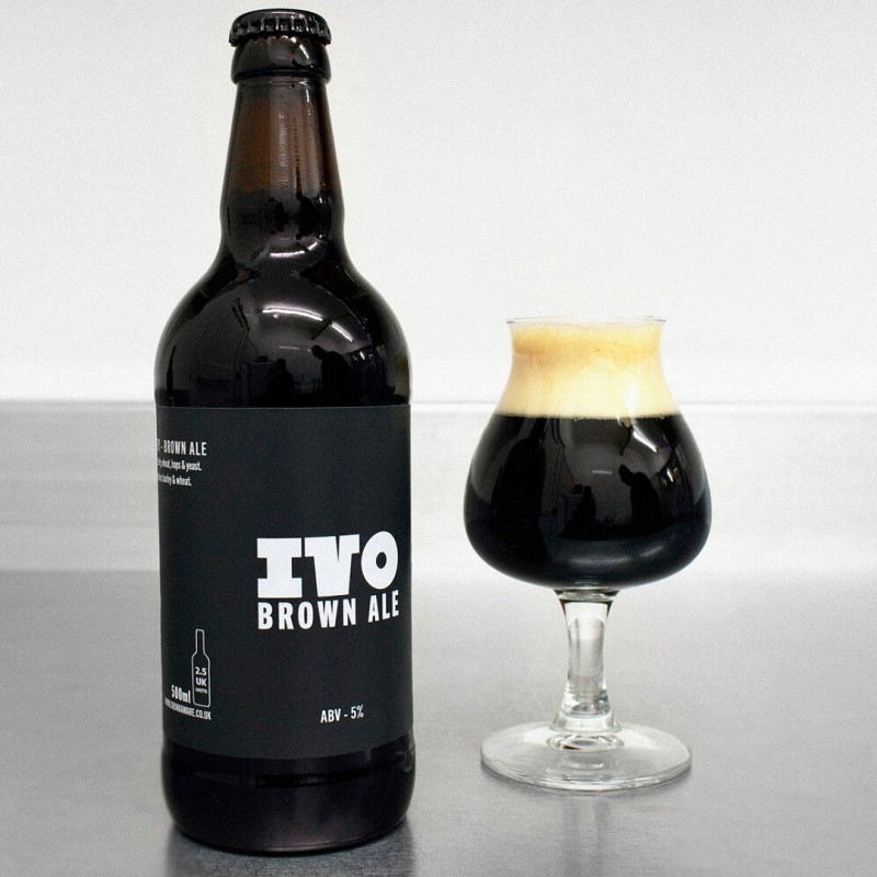 Brown Ale - A.K.A Evening Brown 5% 500ml Ivo Brewery