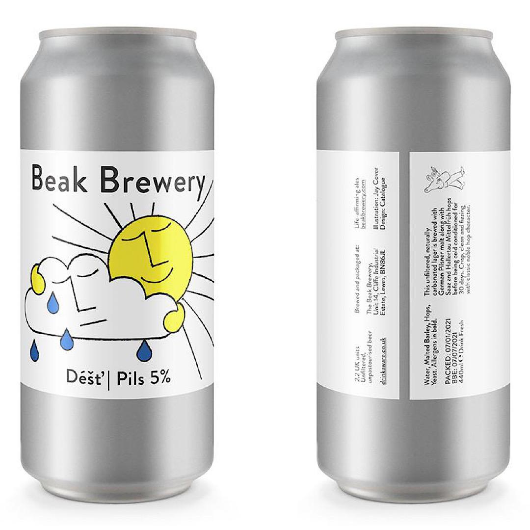 Dest Pils 5% 440ml Beak Brewery