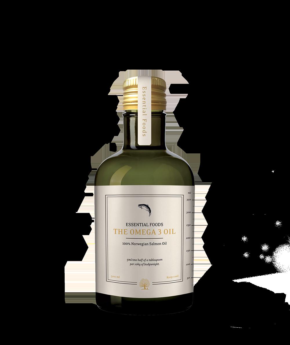 Essential the Omega 3 Oil 500ml Laxolja