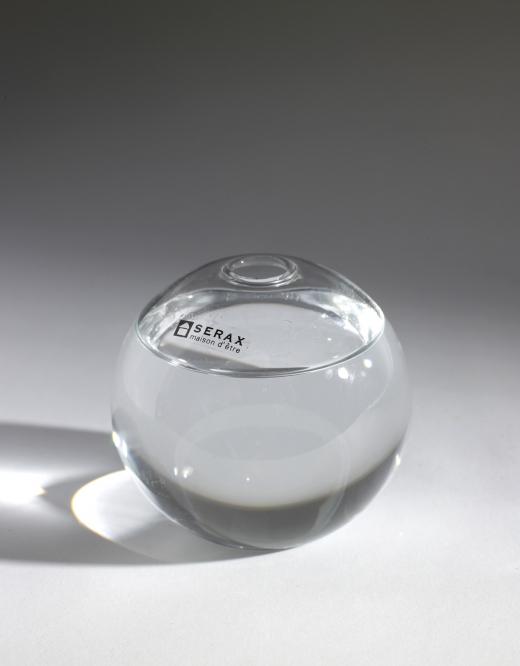 Serax, glasvas ball vase