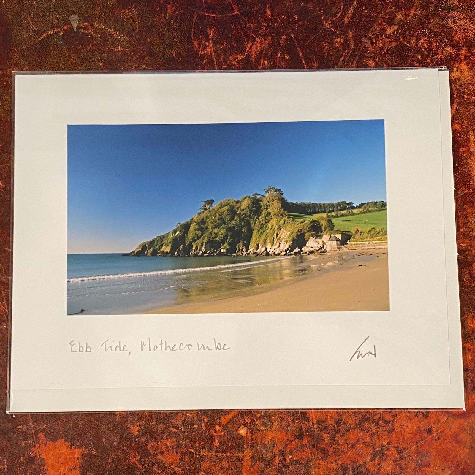 'Ebb Tide, Mothercombe' Expressions Card
