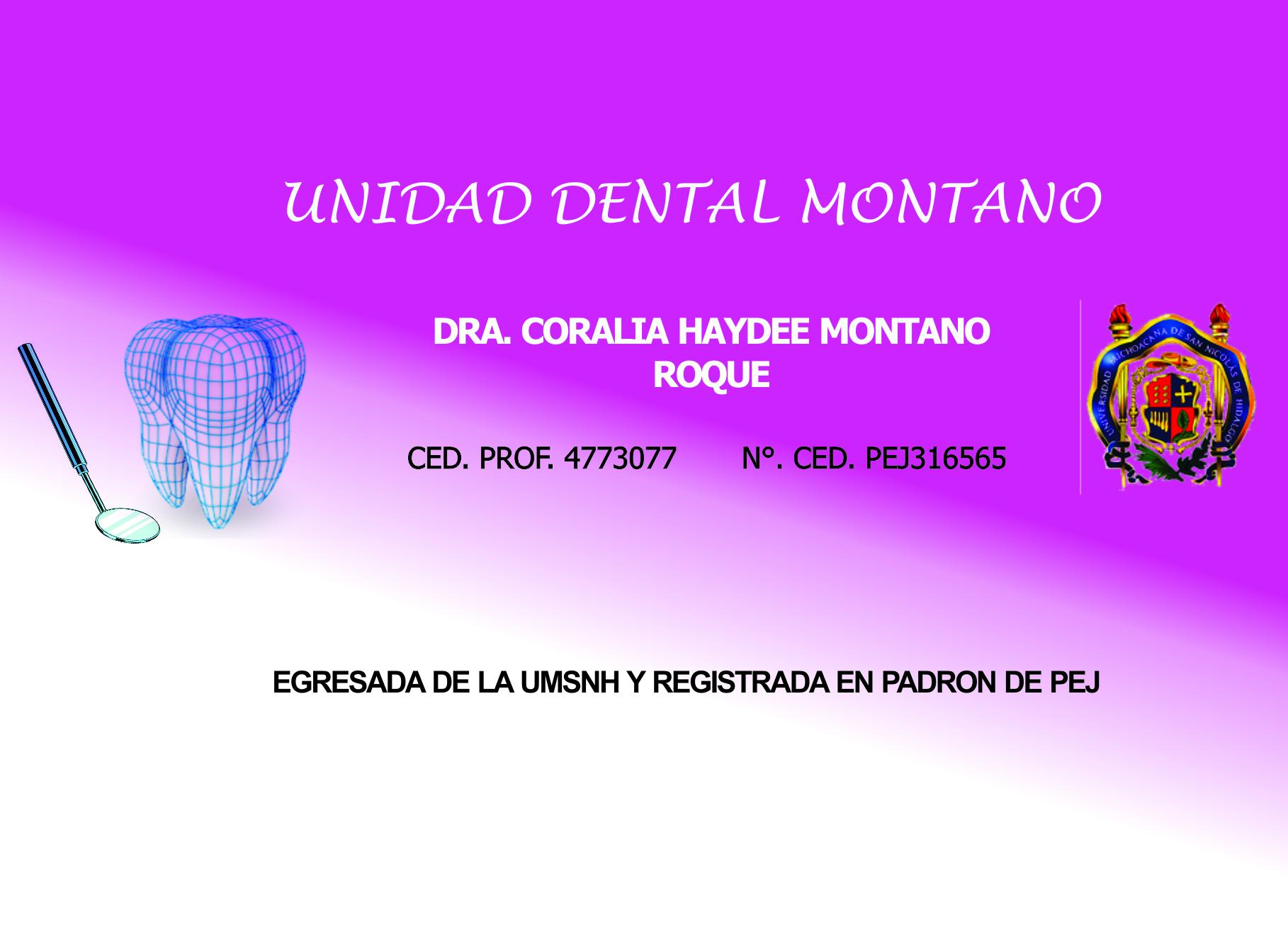Unidad Dental Montano