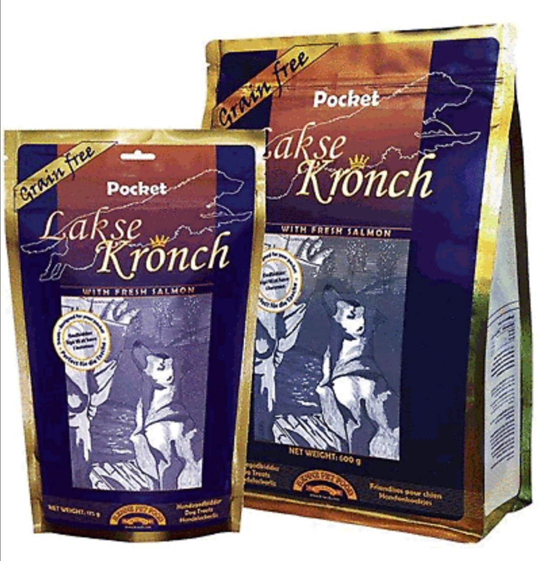 "Henne Pet Food Kronch ""Pocket"" Lachs & Kartoffel"