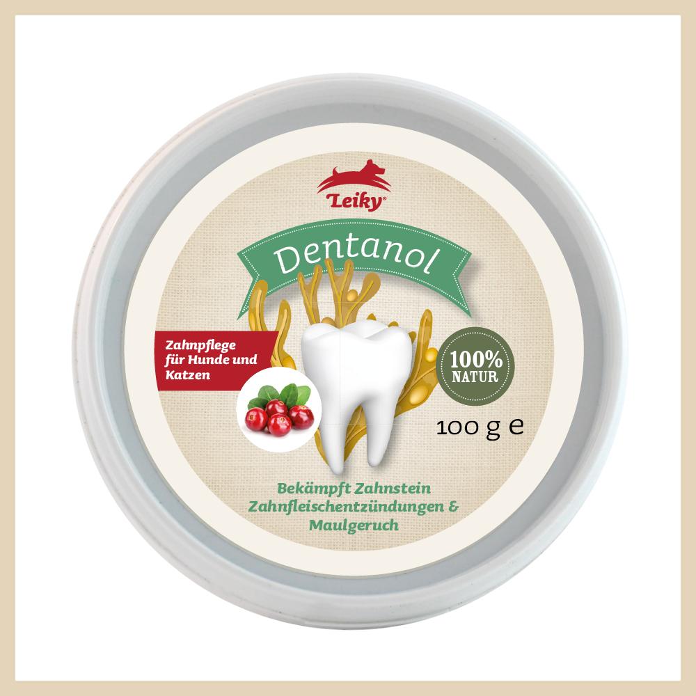 Leiky Dentanol Zahnpflege für Hund & Katze